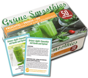 Grüne Smoothies Rezeptkarten